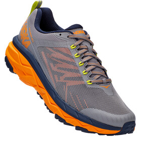 Hoka One One Challenger ATR 5 Shoes Men, frost gray/bright marigold